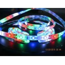 CE certificed cheap DC 12v 5m 2835 rgb strip led 2835 smd flexible runing flash jump color chaging strip rgb tape light kit