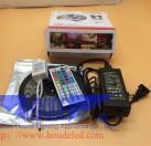 LED电视氛围灯5V黑白板+5A电源+44键控制器适用走廊KTV