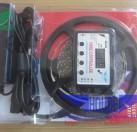 厂家直销5050套管音乐灯带套管防水+5A电脑电源+控制器
